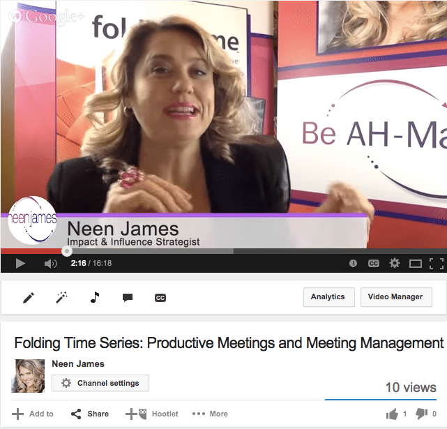 Folding_Time_Series__Productive_Meetings_and_Meeting_Management_-_YouTube