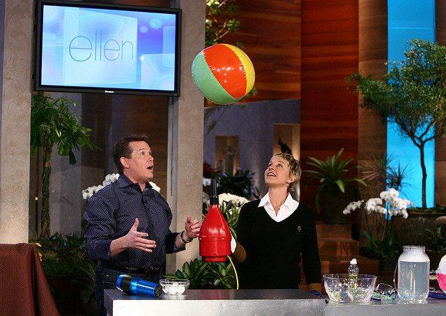 Steve Spangler, Ellen DeGeneres, Spangler Science, Deep Voice