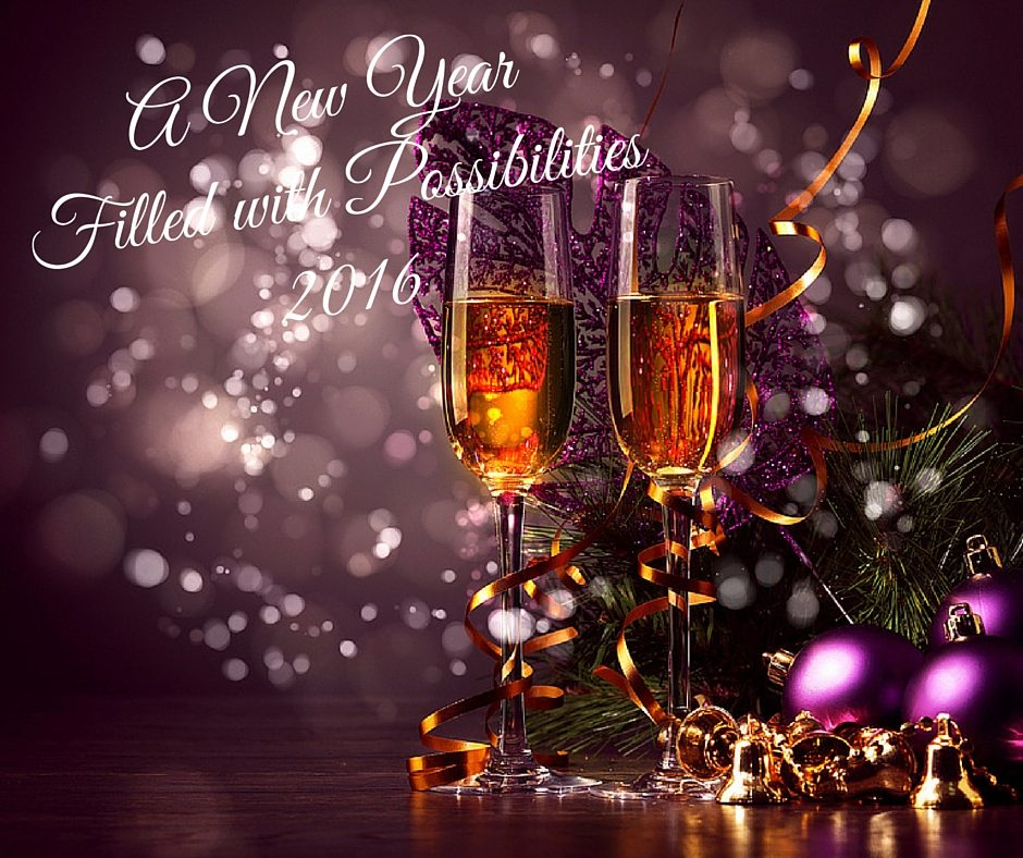 2016 New Year Word Describe Goals Resolution