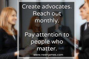 Create Advocates Network Professionals