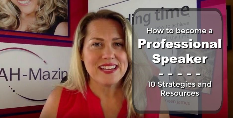 10 Strategies to Become a Professional Speaker