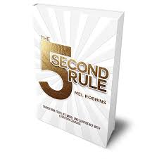 5 second rule mel robbins book review