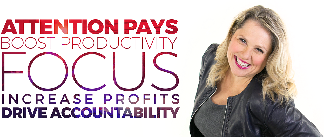 Boost productivity, increase profits and drive accountability with Neen James keynote presentations
