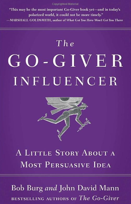 the go giver influencer by bob burg