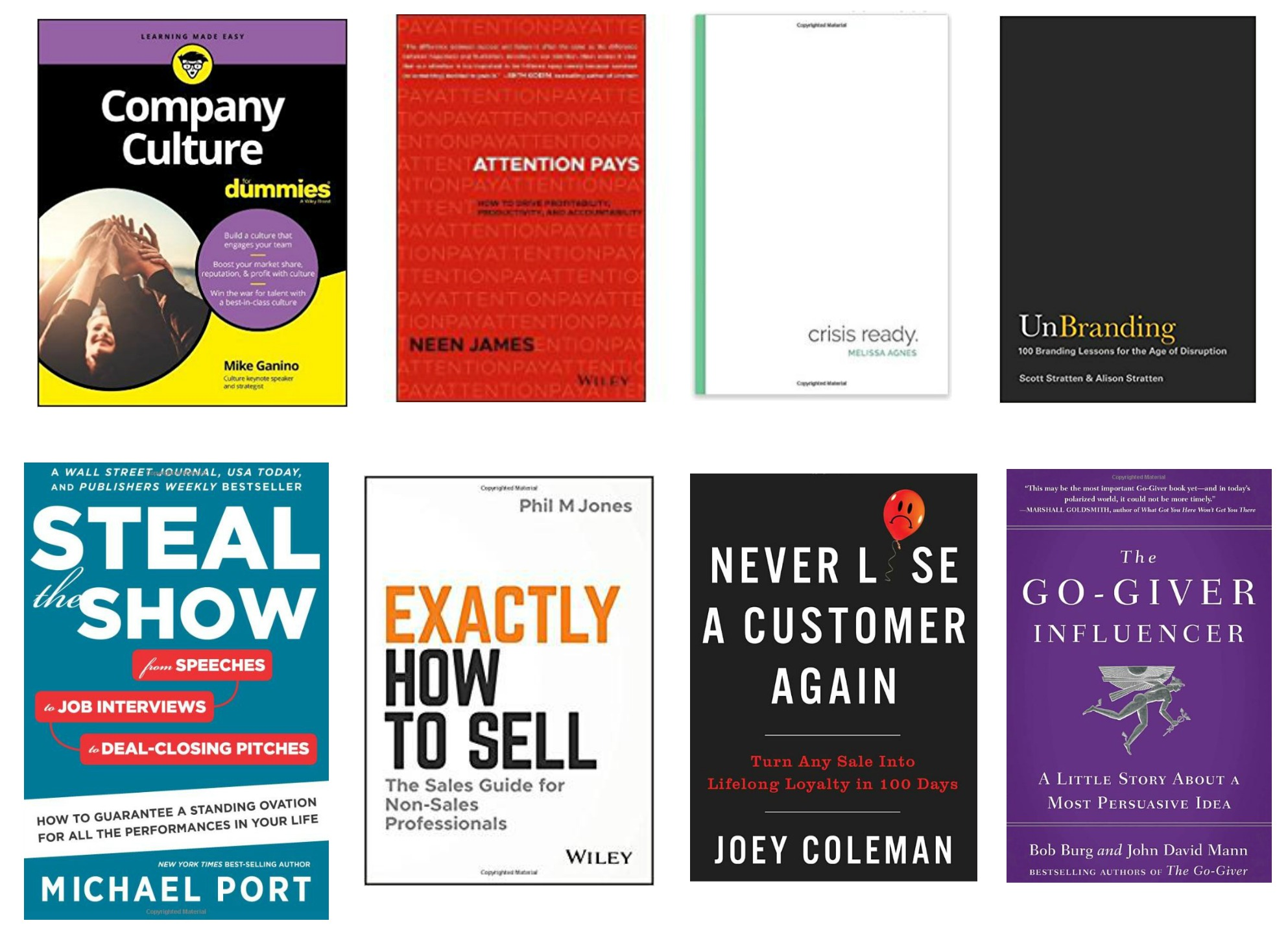 top 8 business books