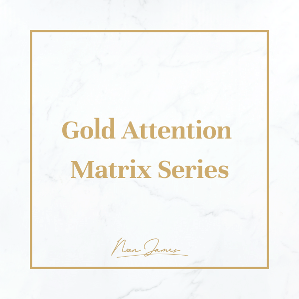 Gold Attention Matrix Series product image