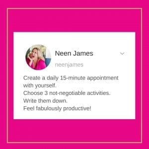 Create a 15 minute appointment